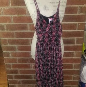 Free People Spaghetti Strap Dress with a Pink Flor